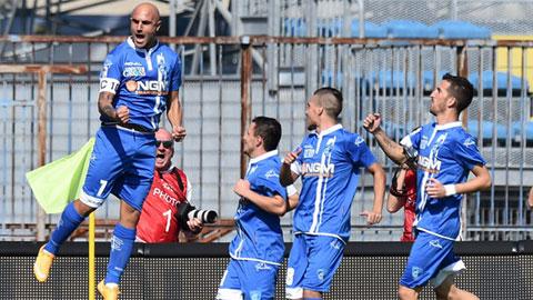 Vòng 6 Serie A: Sampdoria vững bước