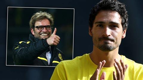Hummels sẽ chỉ gia nhập đội bóng có lối chơi giống Dortmund