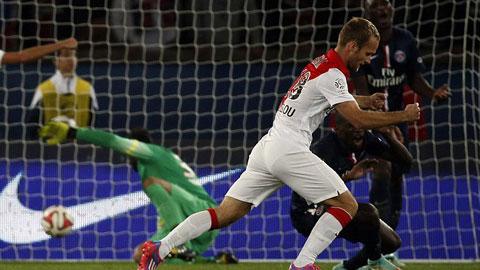PSG 1-1 Monaco: Thoát thua trong gang tấc