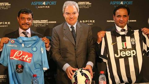 Juve và Napoli tranh Siêu Cúp Italia tại... Qatar
