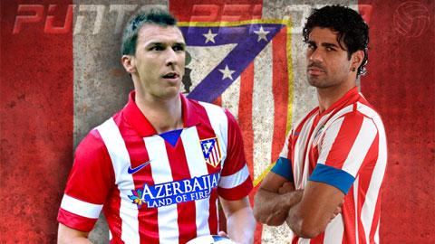 Mandzukic khiến người Atletico chưa thể quên Diego Costa