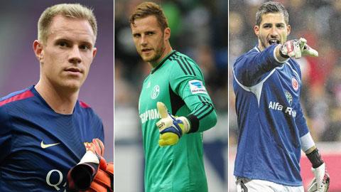 6 thủ môn tiềm năng được dự EURO 2016 cùng ĐT Đức