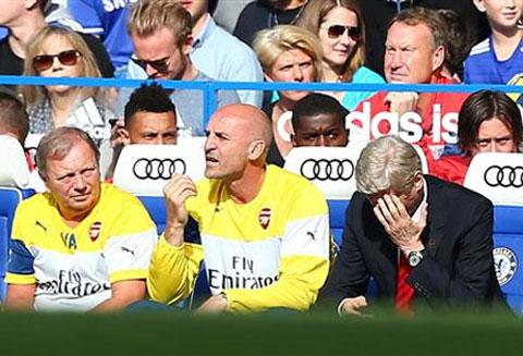 Còn Wenger thì Arsenal còn lận đận!