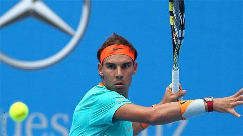 Vòng 2 Shanghai Rolex Masters: Nadal thua vì bị viêm ruột thừa