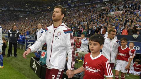 Xabi Alonso làm thay đổi lối chơi của Bayern
