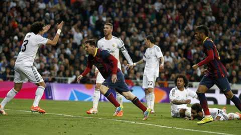"""Real là """"nạn nhân"""" ưa thích nhất của """"chân chuyền"""" Messi"""