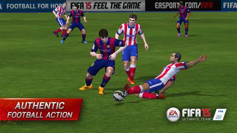 """Ứng dụng hay tháng 10: Game bóng đá """"FIFA 15 Ultimate Team"""""""