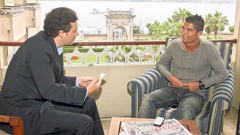 """Ronaldo trả lời phỏng vấn tạp chí World Soccer: """"Tôi luôn muốn là người giỏi nhất"""""""