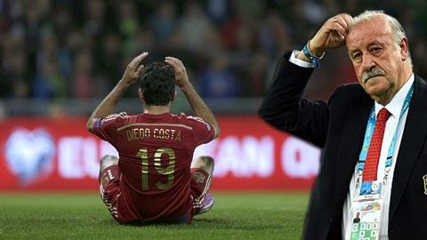 Del Bosque không biết cách sử dụng Diego Costa?