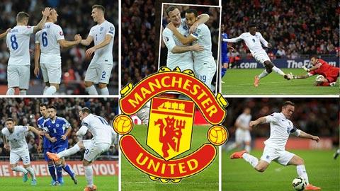 ĐT Anh: M.U nhạt nhòa, Arsenal & Liverpool lên ngôi