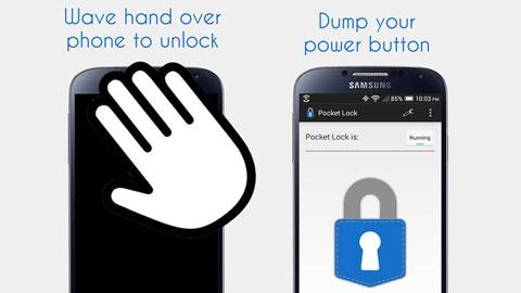 Mẹo hay: Tự khóa và mở khóa smartphone khi cho vào túi