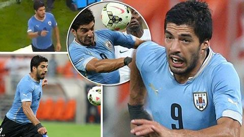 Trọng tài khó xử vì Luis Suarez xin đi vệ sinh giữa trận đấu