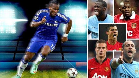 Đội hình ngoại binh hay nhất lịch sử Premier League
