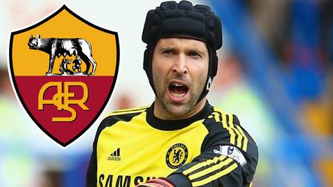 Chelsea cho phép Roma đàm phán với Cech