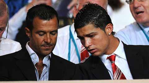 Mendes hét giá 1 tỷ euro cho Ronaldo