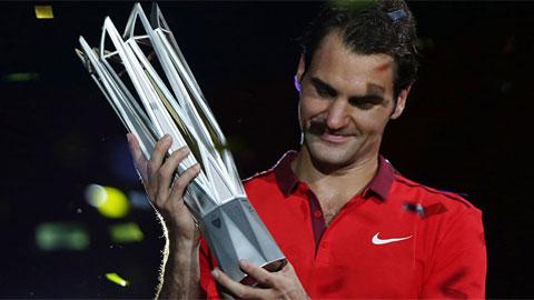 Roger Federer lần đầu tiên đăng quang tại Shanghai Rolex Masters