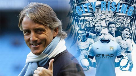 Mancini khẳng định Man City được như bây giờ là nhờ ông