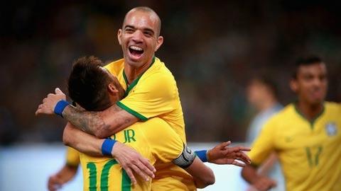 """Tardelli, """"số 9"""" mới của ĐT Brazil"""