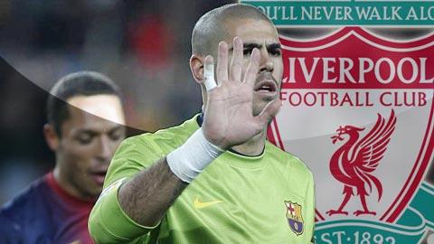 Valdes từ chối đến Liverpool vì phải thử việc