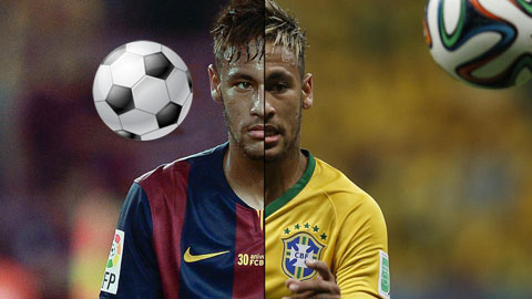 Neymar: Ghi bàn ở Barcelona, chuyền bóng ở Brazil