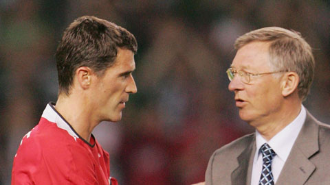 Roy Keane chẳng ngại đối mặt với Sir Alex
