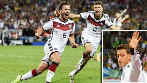 ĐT Đức: Oezil chấn thương, Goetze lĩnh ấn!
