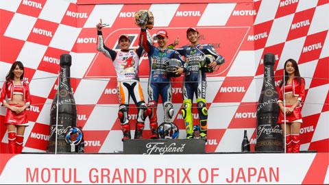 MotoGP chặng 15: Jorge Lorenzo lần thứ 2 về nhất