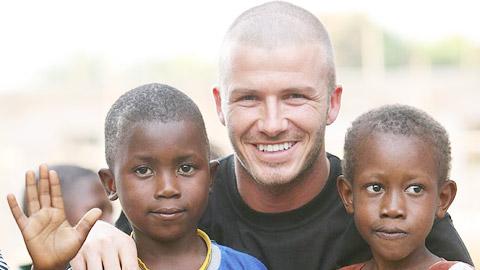Beckham hết mình vì đại dịch Ebola