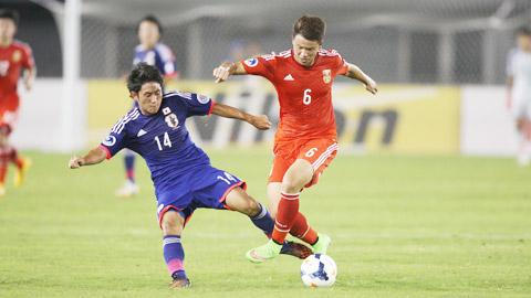 """U19 Trung Quốc: Giỏi phòng ngự và khai thác """"bóng chết"""""""