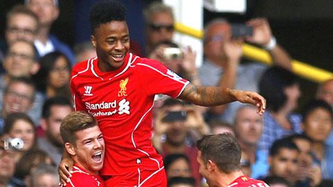 Sterling gia hạn với Liverpool tới 2019
