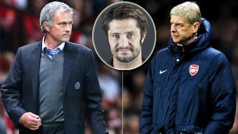 Cựu danh thủ Bayern nhận xét về Mourinho và Wenger như thế nào?