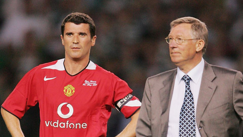 Roy Keane tố Sir Alex không bao giờ muốn các học trò cũ thành công