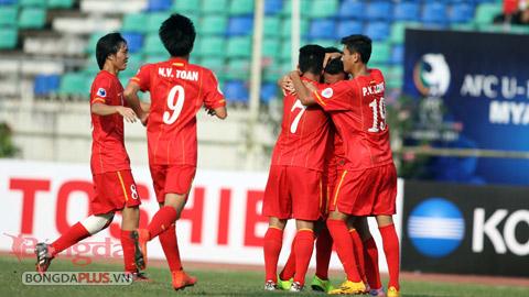 Chùm ảnh: U19 Việt Nam hòa trên thế thắng trước U19 Trung Quốc