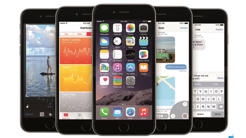 iPhone 6 và iPhone 6 Plus bán chạy nhất lịch sử