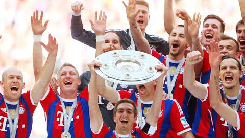 Bayern đạt doanh thu kỷ lục