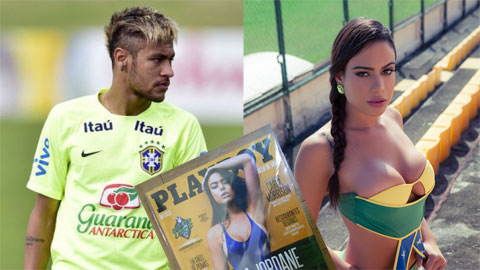 Rút đơn kiện, Neymar chịu thua siêu mẫu khỏa thân