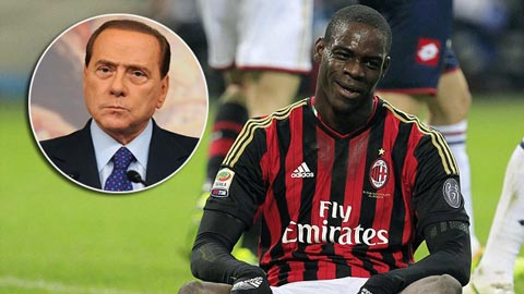"""Ông chủ Milan ví von Balotelli là """"quả táo thối"""""""