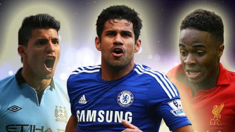 Tốp 10 cầu thủ tấn công tốt nhất Premier League: Vắng bóng M.U & Arsenal