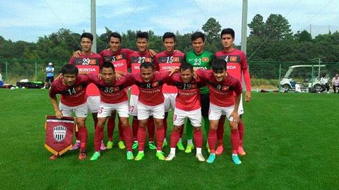 ĐT Việt Nam đá trận giao hữu cuối cùng ở Nhật Bản