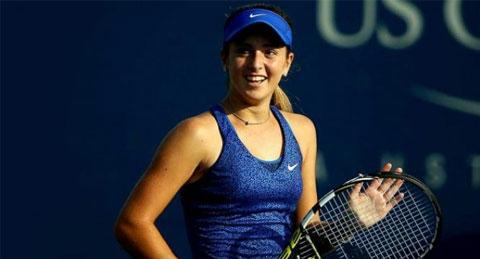 """""""Hiện tượng"""" US Open 2014, Cici Bellis đã có được danh hiệu ITF đầu tiên"""