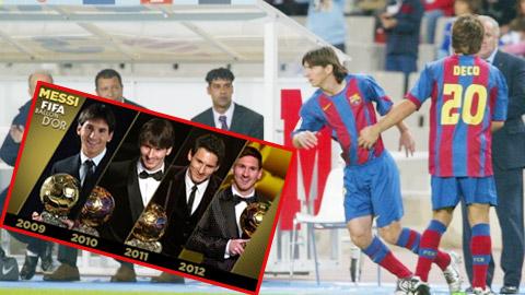 10 năm ngày Messi ra mắt Barca: Người thay đổi lịch sử