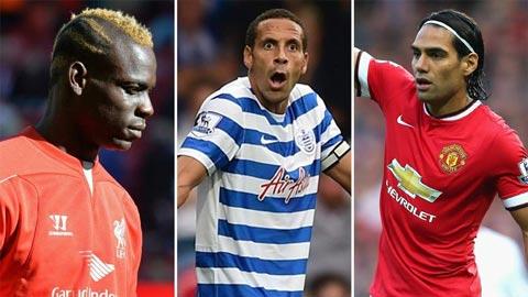 12 bản hợp đồng tồi nhất Premier League 2014/15 tính đến thời điểm này