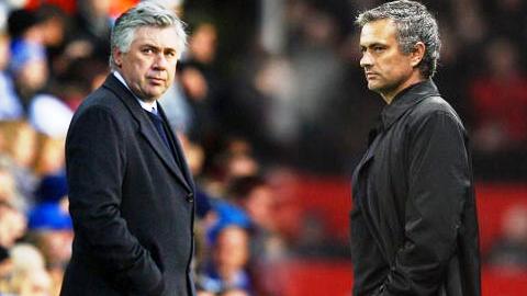 Ancelotti không thích dính líu tới Mourinho
