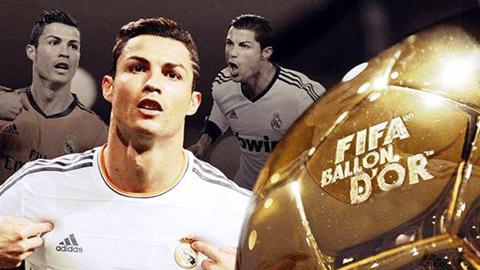 ƯCV Quả bóng vàng 2014: Ai cản nổi Cristiano Ronaldo?