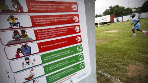 Bóng đá thế giới xáo trộn vì Ebola