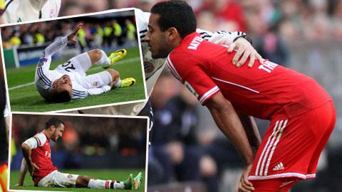 Thiago Alcantara và những cầu thủ mất nghiệp vì chấn thương
