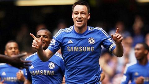 Terry chờ đón trận thứ 500 đeo băng thủ quân Chelsea