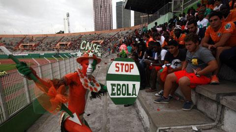Dịch bệnh Ebola tàn phá bóng đá châu Phi: Giọt nước mắt rơi trên sân cỏ Lục địa Đen