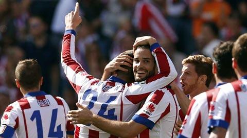Atletico 2-0 Espanyol: Vươn lên tốp 4