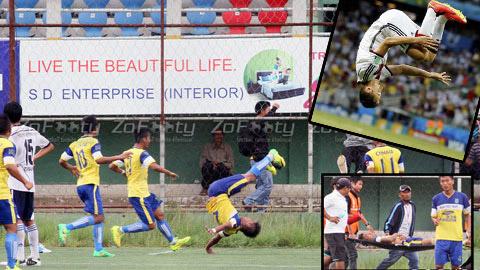 Cầu thủ tử nạn vì ăn mừng giống Klose